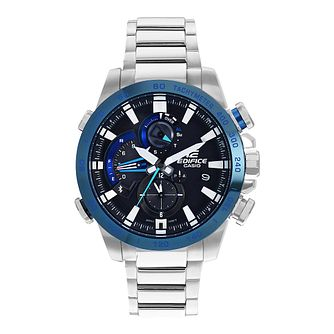 Casio Edifice Men's Bluetooth Smart Steel Bracelet Watch - Product number 8216398