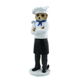 Magnificent Meerkats Marco Chef Figurine - Product number 8216932