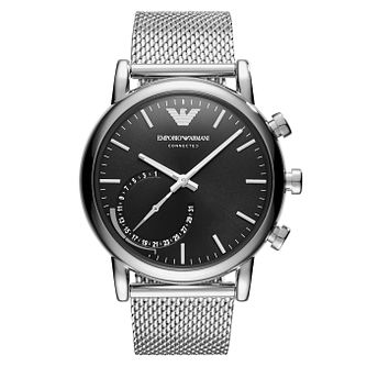 Emporio Armani Connected Men's Bracelet Hybrid Smartwatch - Product number 8216975