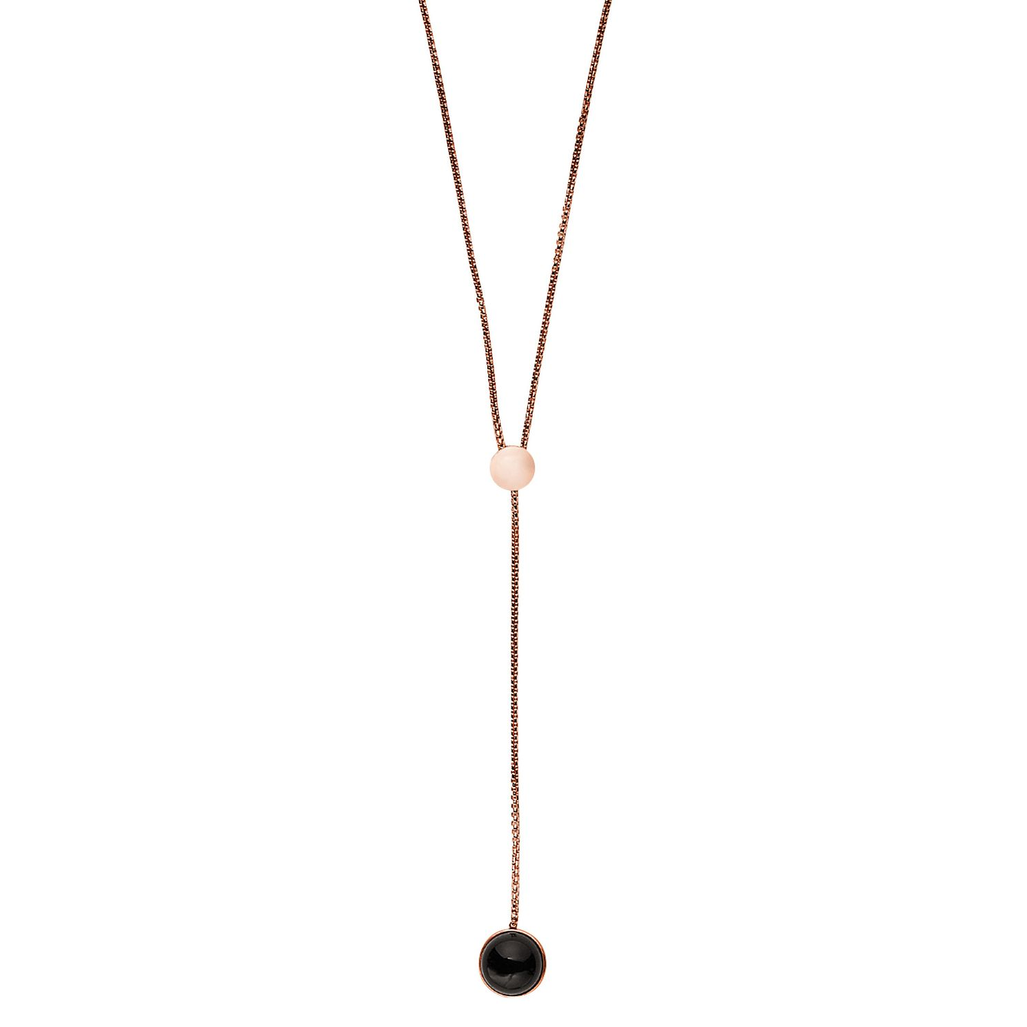 Skagen Ellen Ladies' Rose Gold Tone Necklace - Product number 8217246