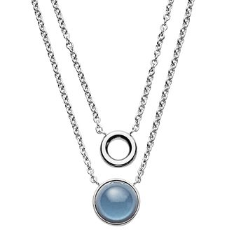 Skagen Ladies' Stainless Steel Double Necklace - Product number 8217262