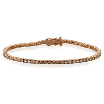 Le Vian 14ct Strawberry Gold Ombre Diamond Bracelet - Product number 8221456