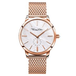 Thomas Sabo Glam Spirit Ladies' Rose Gold Plated Watch - Product number 8226539
