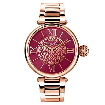 Thomas Sabo Karma Ladies' Rose Gold Plated Bracelet Watch - Product number 8226547