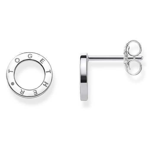 Thomas Sabo Together Sterling Silver Circular Stud Earrings - Product number 8226571