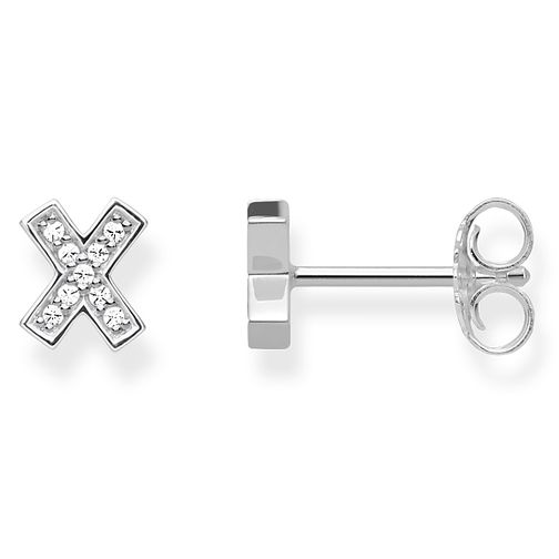 Thomas Sabo Glam & Soul Sterling Silver X Stud Earrings - Product number 8226903
