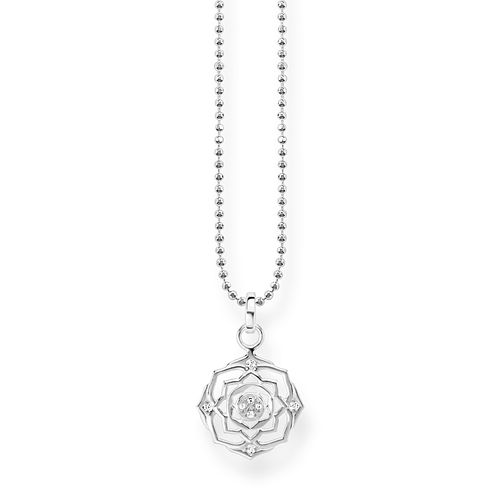 Thomas Sabo Glam & Soul Sterling Silver Chakra Crown Pendant - Product number 8227306