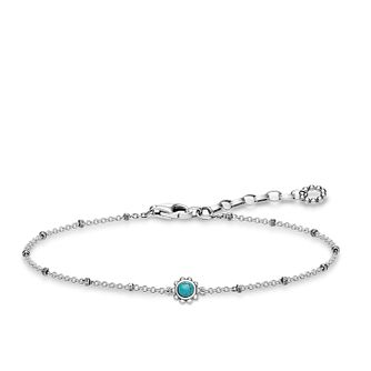 Thomas Sabo Glam & Soul Sterling Silver Turquoise Bracelet - Product number 8227454
