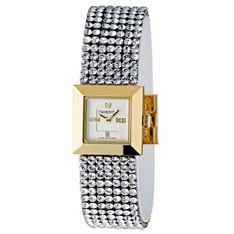 Swarovski Ellis Mini Crystal & Gold Case Bracelet Watch - Product number 8228728