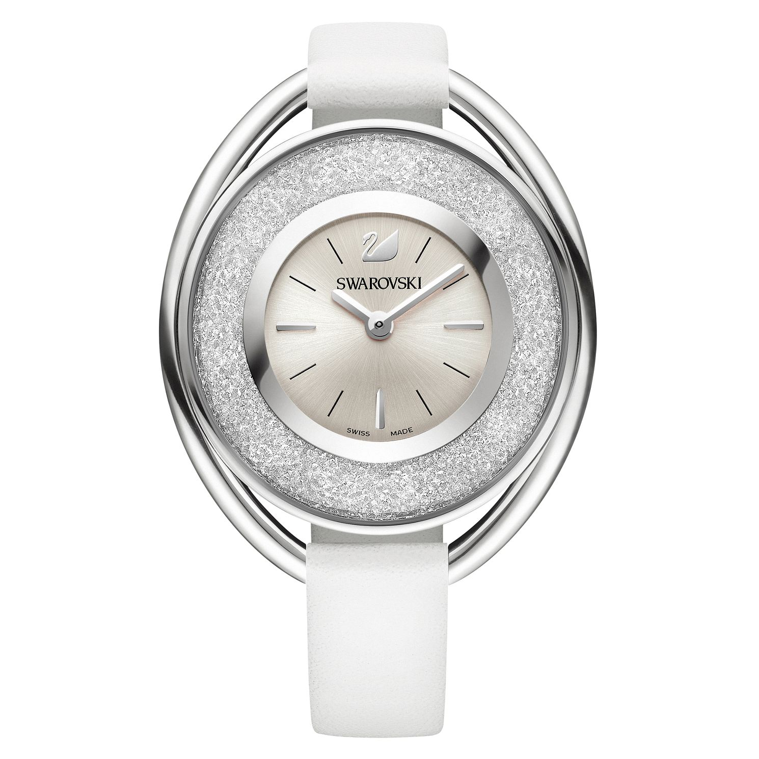Swarovski Crystalline Ladies' Stainless Steel Oval Watch - Product number 8228914