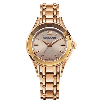 Swarovski Alegria Ladies' Rose Gold Plated Bracelet Watch - Product number 8228973