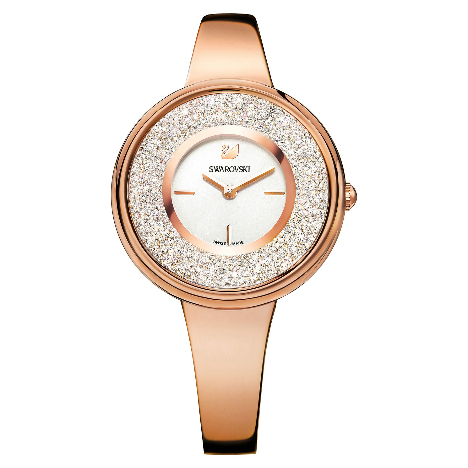 Swarovski Crystalline Pure Ladies' Rose Gold Plated Watch - Product number 8231281