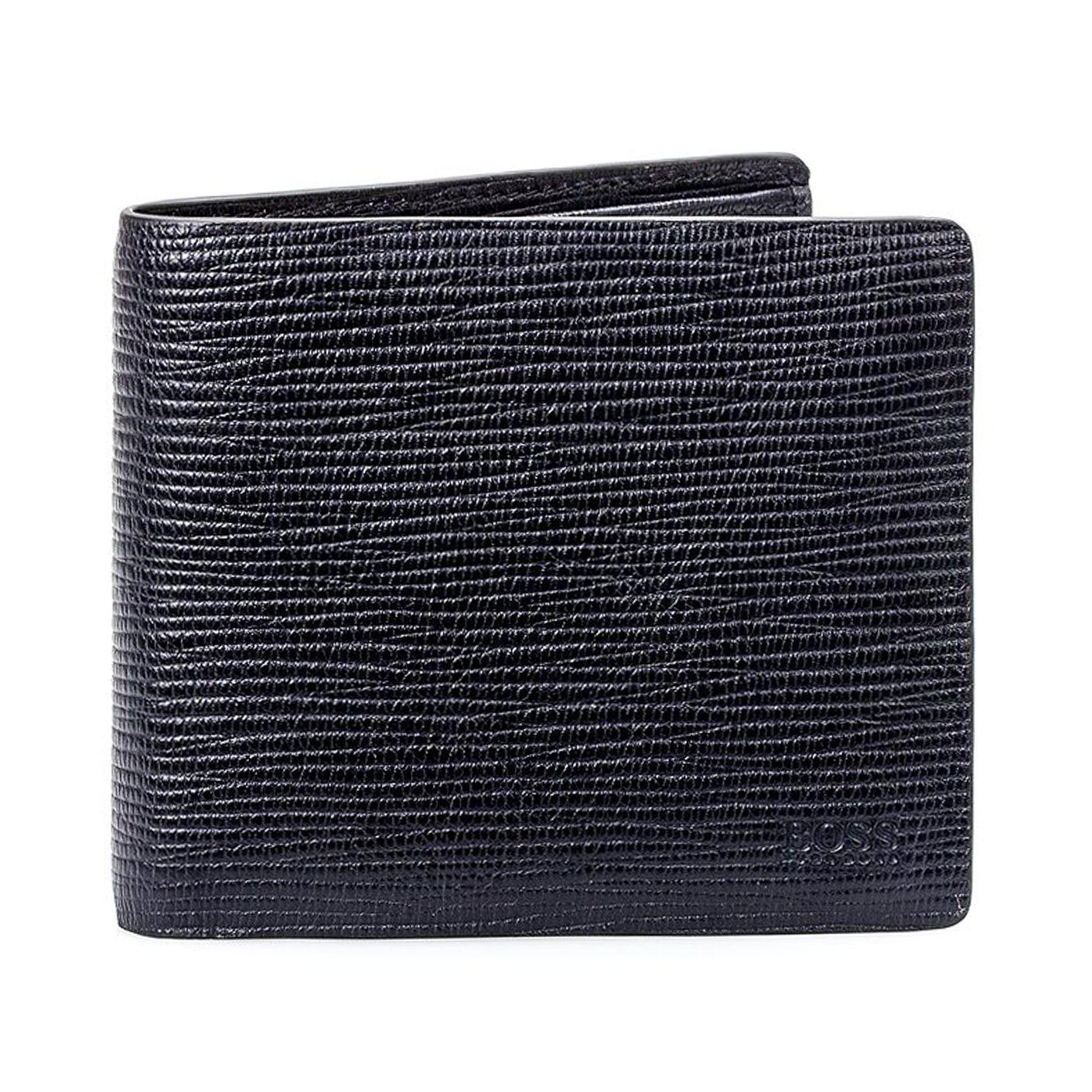 BOSS Timeless Men's Navy Blue Wallet - Product number 8231427