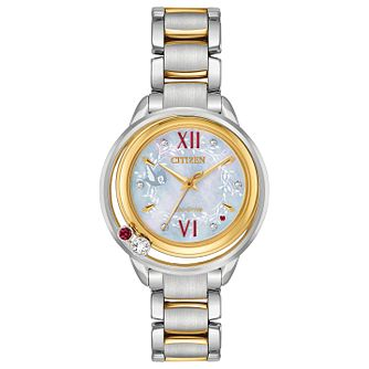 Citizen Disney Snow White Diamond Two Tone Bracelet Watch - Product number 8233268