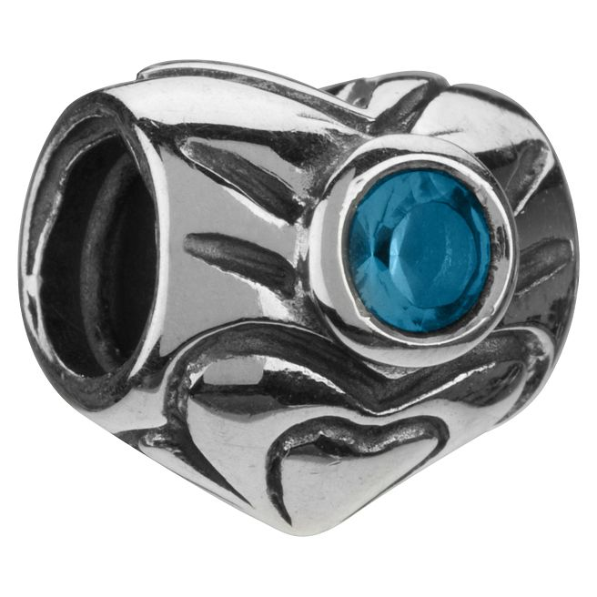 Chamilia - sterling silver March birthstone bead - Product number 8238782