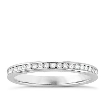 Platinum 1/2ct Diamond Full Eternity Ring - Product number 8243972