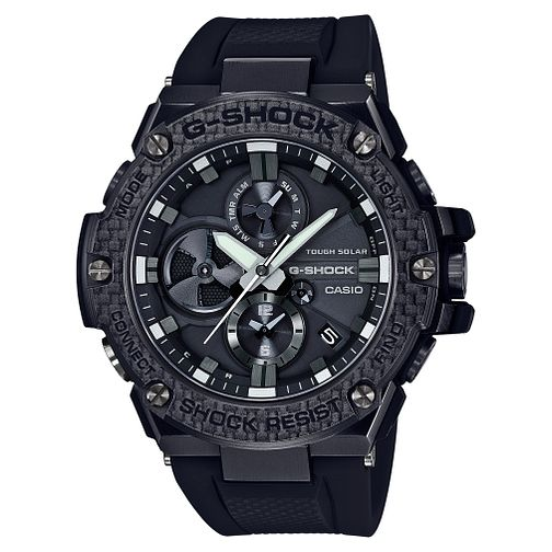 Casio G-Shock Men's Bluetooth Black Strap Watch - Product number 8344817