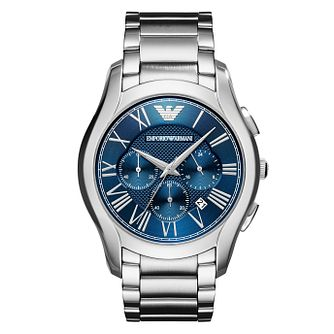 Emporio Armani Men's Blue Dial Bracelet Watch - Product number 8345805