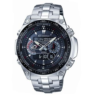 Casio Edifice Solar Powered Radio Controlled Watch - Product number 8346577