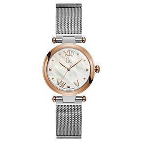 Gc LadyChic Ladies' Stainless Steel Mesh Bracelet Watch - Product number 8346860