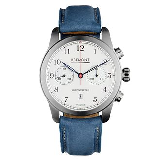 Bremont Rose Special Edition Blue Leather Strap Watch - Product number 8347417