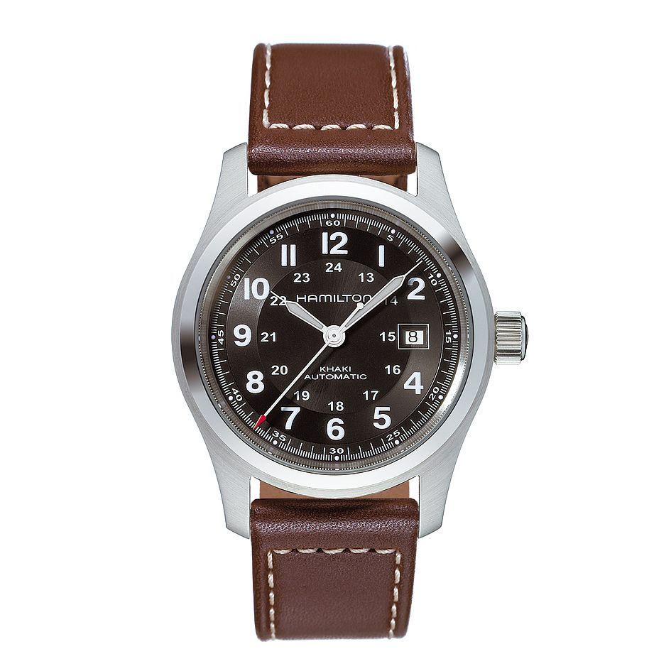 Hamilton Men's Brown Strap Watch - Product number 8360537