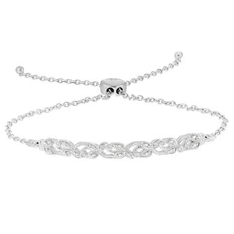 Neil Lane 0.10ct Diamond Round Bolo Bracelet - Product number 8367264