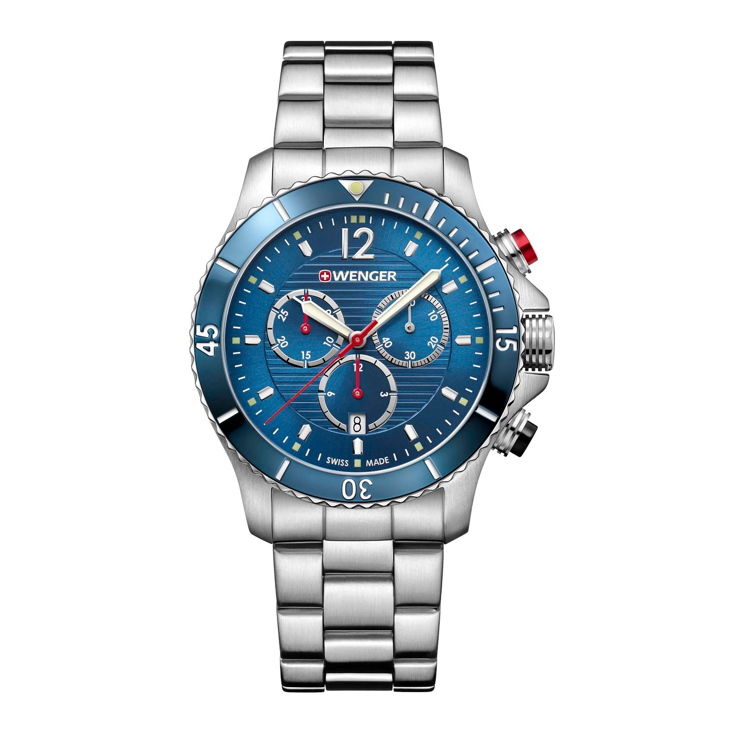 Wenger Seaforce Chrono Men's Stainless Steel Bracelet Watch - Product number 8367981