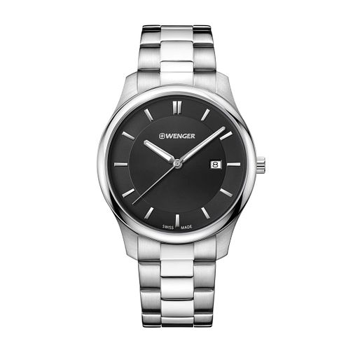 Wenger City Classic Men's Stainless Steel Bracelet Watch - Product number 8368023