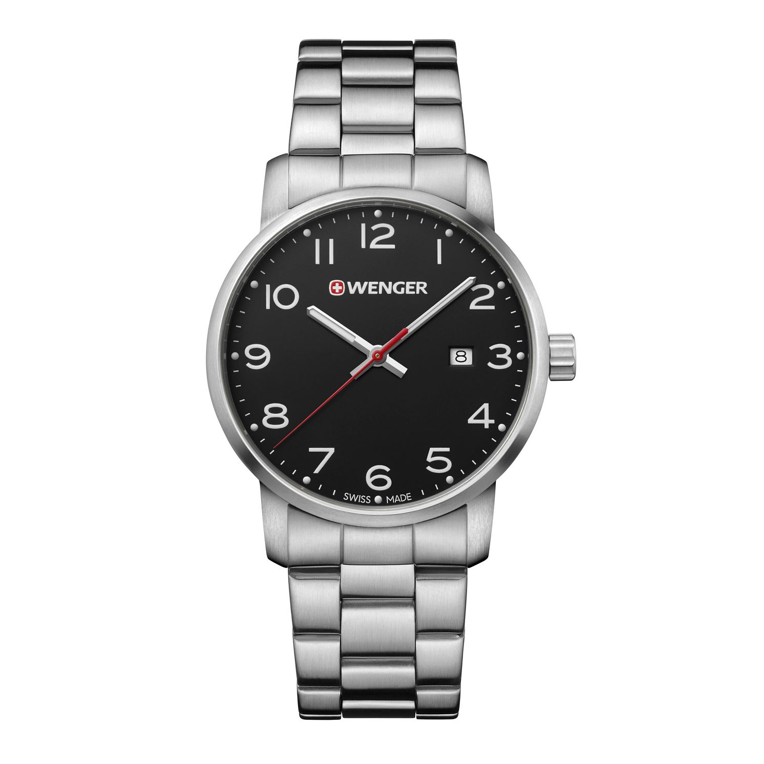 Wenger Avenue Men's Stainless Steel Bracelet Watch - Product number 8368201