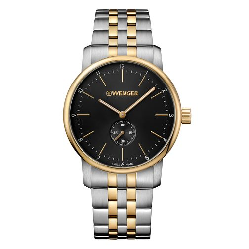 Wenger Urban Classic Men's Two Tone Steel Bracelet Watch - Product number 8368309