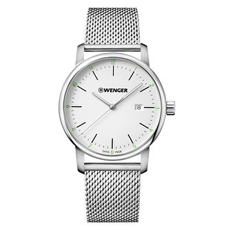 Wenger Urban Classic Men's Steel Mesh Strap Watch - Product number 8368368