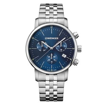 Wenger Urban Classic Chrono Men's Steel Bracelet Watch - Product number 8368465