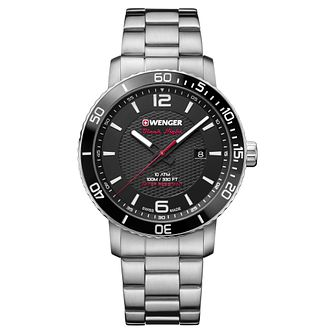 Wenger Roadster Black Night Men's Steel Bracelet Watch - Product number 8368481
