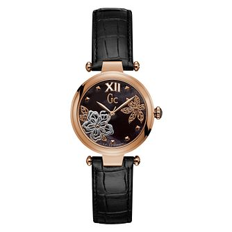 GC PureChic Ladies' Rose Gold Plated Strap Watch - Product number 8376425