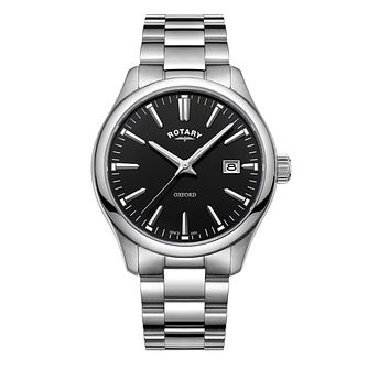 Rotary Men's Oxford Stainless Steel Bracelet Watch - Product number 8376840