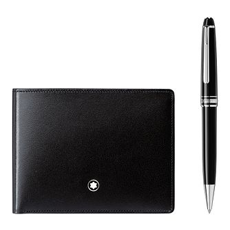 Montblanc Meisterstuck Men's Ballpoint and Wallet Gift Set - Product number 8383510