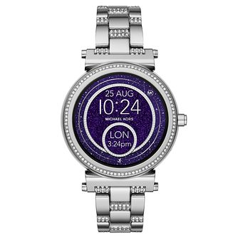 Michael Kors Access Sofie Gen 3 Stone Set Smartwatch - Product number 8388385