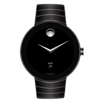 Movado Connect Men's Ion Plated Bracelet Smartwatch - Product number 8389993