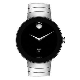 Movado Connect Men's Stainless Steel Smartwatch - Product number 8390010