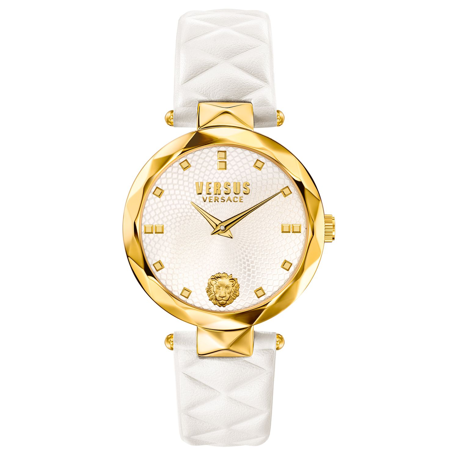 Versus Versace Ladies' White Leather Strap Watch - Product number 8391300