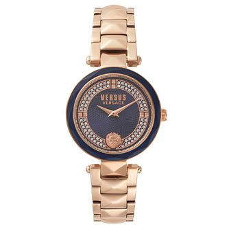 Versus Versace Ladies' Rose Gold Plated Bracelet Watch - Product number 8391424