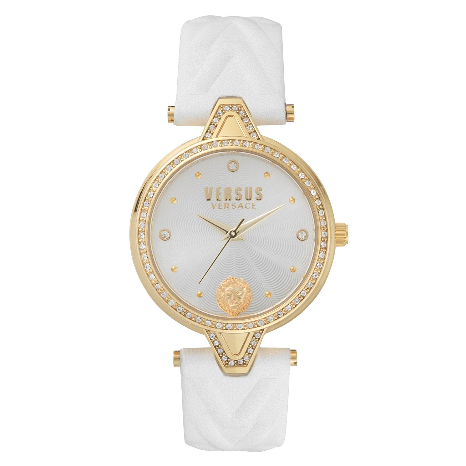 Versus Versace Ladies' White Leather Strap Watch - Product number 8391440