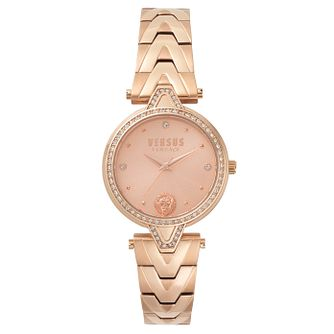 Versus Versace Ladies' Rose Gold Plated Bracelet Watch - Product number 8391483