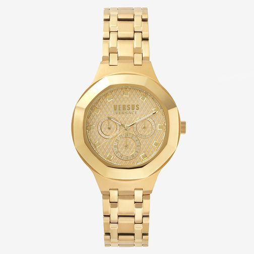 Versus Versace Ladies' Gold Plated Bracelet Watch - Product number 8391610