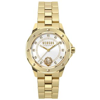 Versus Versace Ladies' Gold Plated Bracelet Watch - Product number 8391785