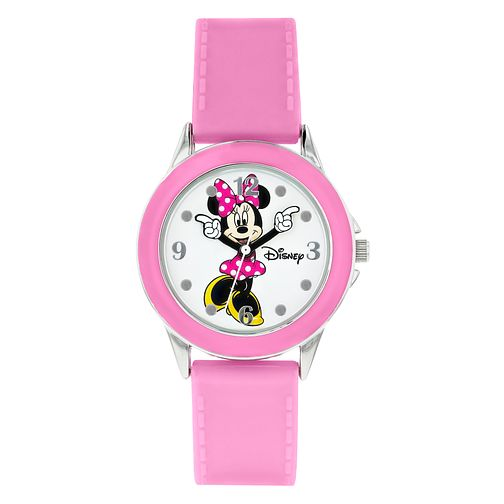 Disney Minnie Mouse Children's Rubber Strap Watch - Product number 8391882