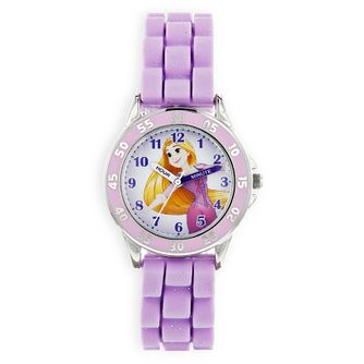 Disney Rapunzel Children's Purple Rubber Strap Watch - Product number 8391904