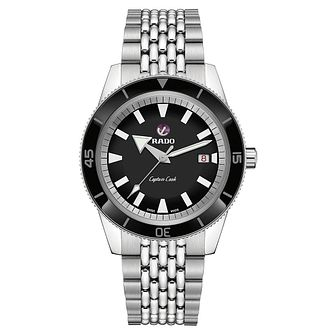 Rado Captain Cook Men's Stainless Steel Bracelet Watch - Product number 8399808