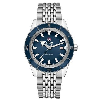 Rado Captain Cook Men's Stainless Steel Bracelet Watch - Product number 8400008